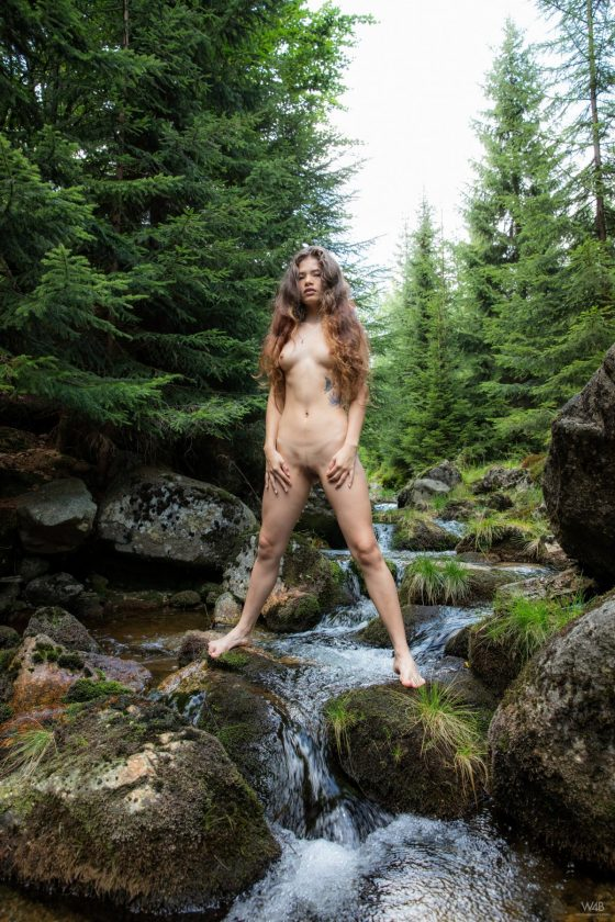 Irene Rouse Nude Alone In The Forest Watch4beauty Pics